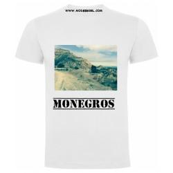 Camiseta unisex paisaje monegros