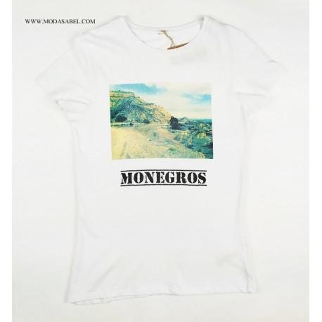 Camiseta Mujer Paisaje Monegros