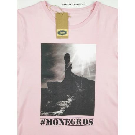 "Camiseta mujer ""COBETA"" Rosa"