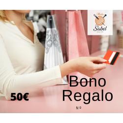 BONO REGALO 50€