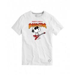 Camiseta Friki Snoopy ROCKSTAR