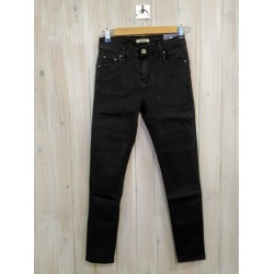 Jeans Push Up Negro