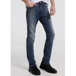 Jeans ROBIN de LOIS Hombre en tono Azul con Elastico