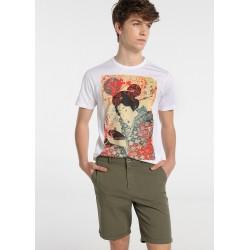 Camiseta de hombre modelo Geisha