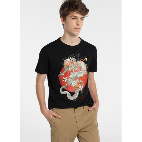 Camiseta hombre dragón de Sixvalves