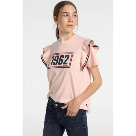 Camiseta Lois de mujer con volantes