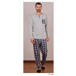 Pijama de hombre de cuadros de Rachas y Abreu 21454