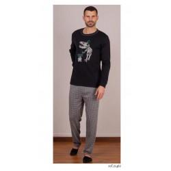Pijama de hombre Music is my Life de Rachas y Abreu 21462