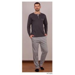 Pijama de hombre de rayas de Rachas y Abreu 21464