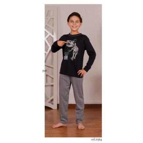 Pijama de niño Music is my Life de Rachas & Abreu 21564
