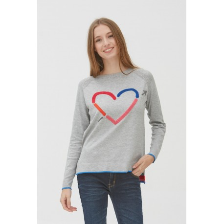 Jersey gris de mujer de la marca WNT D221046