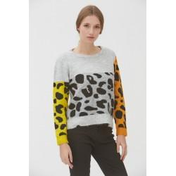 Jersey con estampado print animal de mujer de la marca WNT D221217